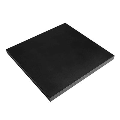 Tafel deksel staal vierkant