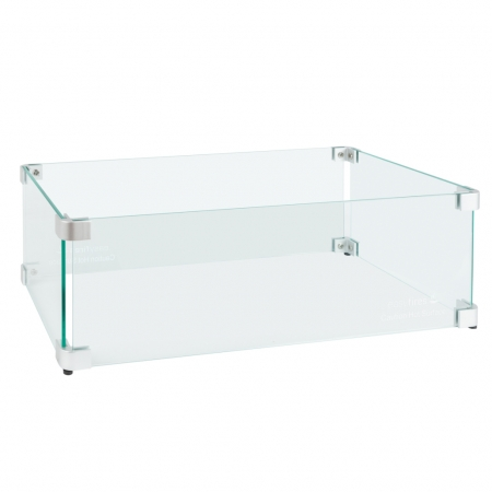 Glasombouw tbv inbouwbrander 50 cm x 25 cm